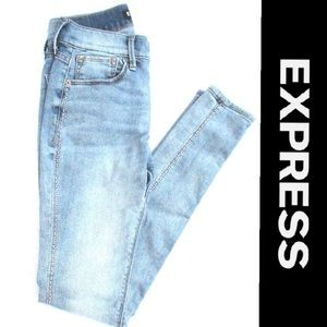 Express Skinny Light Wash Jeans